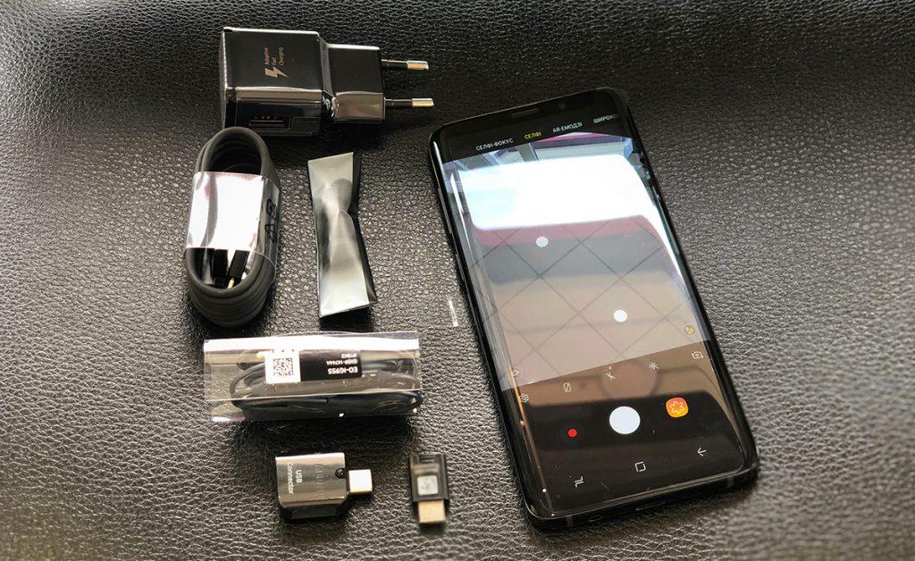 Об Galaxy S9 plus